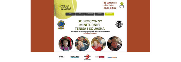 Niedziela w Sobocie – Dobroczynny Turniej Tenisa