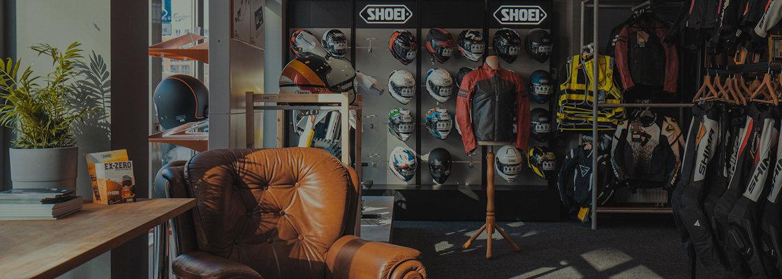 Sklep motocyklowy Steve Moto Shop